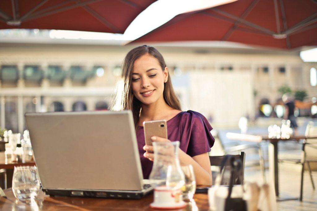 Mobiles arbeiten Stellenanzeige Becker Personal + Perspektiven
